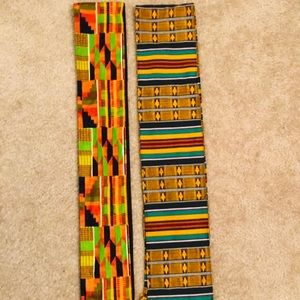 Accessories - African Kente Scarf 🧣 cloth material 🧣